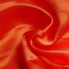 Liquid Satin Orange 150cm