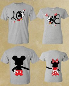 Quotes About Love For Him : QUOTATION – Image : As the quote says – Description Soul And Mate love Mickey Minnie Couple by forevercustomtees *yes, we will be wearing these in Disney! Disney Shirts For Family, Shirts For Teens, Couple Shirts, Disneyland Shirts, Disneyland Trip, Disney World Trip, Disney Trips, Camisa Do Mickey, Disney Style