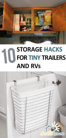 10 Storage Hacks for Tiny Trailers and RVs