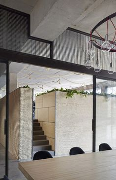 Image 8 of 25 from gallery of KUD STUDIO / Kavellaris Urban Design. Photograph by Peter Clarke Australian Interior Design, Interior Design Awards, Interior Work, Commercial Interior Design, Commercial Interiors, Architecture Panel, Architecture Office, Architecture Design, Drawing Architecture