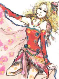 Terra Branford fanart - Final Fantasy VI
