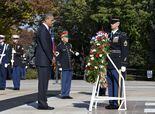 Obama's day: Honoring veterans  Should be what Obama is doing on veterans day.  Nice spin though clowns