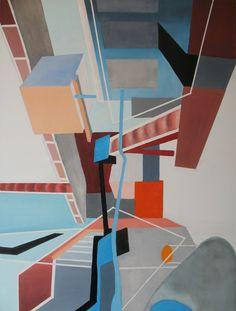 'Step inside ...' ('Kom binnen ...') Oil on canvas (Olieverf op doek) 23.62 in x 31.50 in (60 cm x 80 cm) Feb 5, 2015 (5 februari 2015) (13)