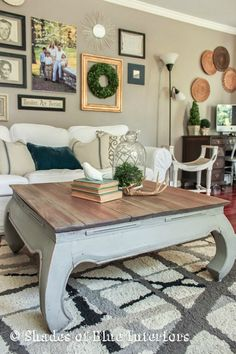Annie Sloan coffee table