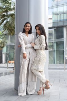 Alizey and Lailli Mirza in Faraz Manan