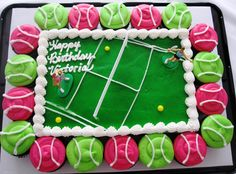 tennis party decorations   my drivel: It's a TENNIS THEME Birthday!