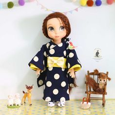Kimono .Doll clothes for Disney animator dolls 16.  Doll , sock and accessories not included. :)