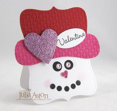 Create With Me: A Snowman Valentine