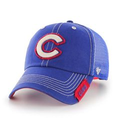 Chicago Cubs  47 Brand Turner Clean-Up Mesh Hat Team Gear 4384e614b