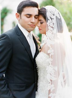 vintage romance couple // photo by Valentina Glidden // http://ruffledblog.com/elegant-orange-county-wedding
