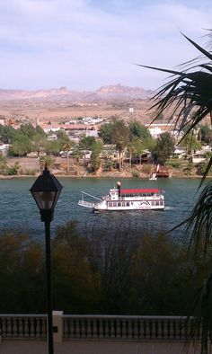 Colorado river, Laughlin NV...Mike and I got married on this boat :)