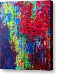 Beautiful Abstraction Painting by Julie Janney.