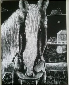 Scratchboard Art, Statue, Black And White, Illustration, Painting, Black N White, Black White, Painting Art, Paintings