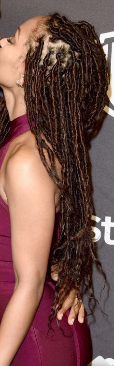 Meagan Good Faux Locs