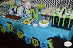 Mustaches / Little Man Birthday Party Ideas | Photo 4 of 17