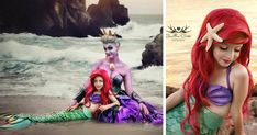 7-Year-Old Daughter And Mom Cosplay As Disney Characters, And Their Photos Are Better Than The Real Thing | Bored Panda