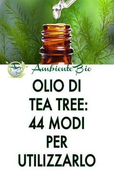 Tea tree oil: 44 ways to use it - Tea tree oil is derived from Melaleuca alternifolia, originally from Australia. Tee Tree Oil, Fitness Diet, Health Fitness, Melaleuca, Natural Medicine, Tea Tree, Natural Oils, Planer, Health And Beauty