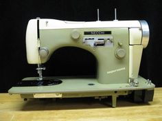 Necchi sewing machine gallery - OldSewinGear