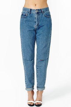 Steady Boyfriend Jeans
