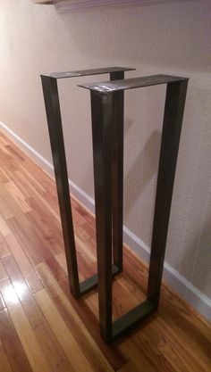 Welded Metal Table Legs