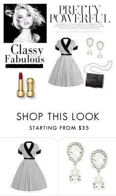 """""""Classy"""" by carmesim ❤ liked on Polyvore featuring Dolce&Gabbana, Tim Holtz, MM6 Maison Margiela and plus size dresses"""
