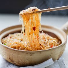 Ants Climbing a Tree-Cellophane Noodles Stir Fry – China Sichuan Food | #Noodles #Chinese #Szechuan