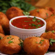 Deep-Fried Mini Calzones