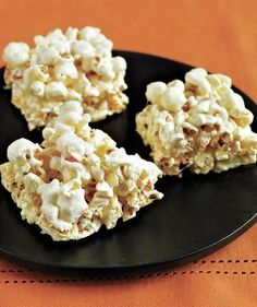 Marshmallow Popcorn Bars- Forget that other marshmallow treat: Fold popcorn into melted marshmallows and butter for a sweet and salty snack.
