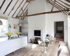 In a Georgian rectory in West Sussex, the calm light and pale interiors act as a mild sedative.