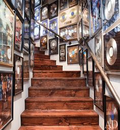 If only I had records and a staircase!