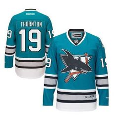 c4f42f8c7b1 24 Best Green Joe Thornton Jersey Reebok Throwback   Sharks Ebay ...
