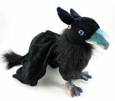 Galaxy Gryphon Plush Toy Stuffed Animal Plushie by BeeZeeArt