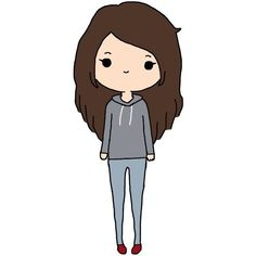 Cute Cartoon People People Cute Cartoon Drawings Kawaii