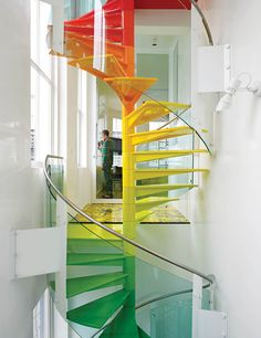 Color stairway to heaven