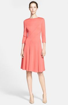 St. John Collection Milano Knit Dress available at #Nordstrom