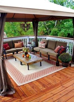 Decorating Ideas For Decks - Top 10 Patio Ideas Outdoor Rooms Terrace Decor Patio 30 Ideas To Dress Up Your Deck Midwest Living Small Deck Decorating Ideas Our Deck Tour Unorigina. Outdoor Seating, Outdoor Rooms, Outdoor Living, Deck Seating, Backyard Seating, Outdoor Lounge, Deck Table, Indoor Outdoor, Outdoor Kitchens