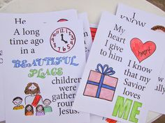 A Lively Hope: LDS Choristers: FREE Color Your Own Flipcharts for 2015 LDS Primary Songs