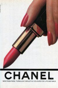 CHANEL Red Lipstick and Nail Polish - 1985 | Finnfemme