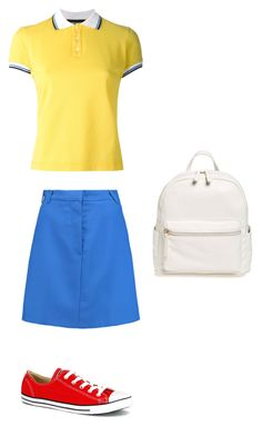 """""""к-т цв"""" by natalinabloom on Polyvore featuring мода, Dsquared2, Carven, BP. и Converse"""