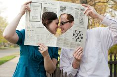 Midwest Engagement Photographer: The Creative and vintage E-session