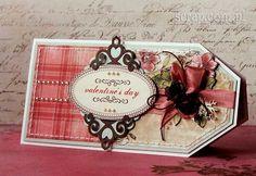 Walentynka Scrapbook Cards, Scrapbooking, Cardmaking, Valentines Day, Christmas, Tags, Google, Decor, Cards