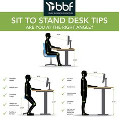 Commercial Office Furniture, Sit To Stand, Stand Up For Yourself, Adjustable Height Desk, Wall Outlets, In The Heights, The Unit, Business Furniture, Productivity