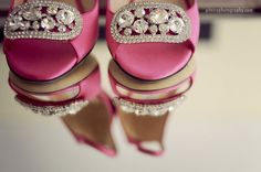 Wedding shoes detail shot. Bring a mirror