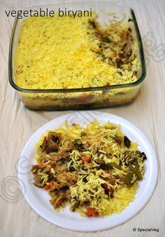 Vegetable Biryani   Special Veg