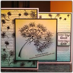 Dandelion Dreams...... Stamp by Honey Doo Crafts Card designed by A.K.A Debbie Watts