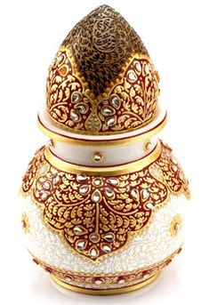 This Marble Kalash is extreamely beautiful. It looks great for gift purposes also. The size of this product is Kalash and Marble Shrifal). Desi Wedding Decor, Indian Wedding Decorations, Wedding Crafts, Wedding Props, Wedding Ideas, Wedding Card, Wedding Invitations, Marble Painting, Marble Art