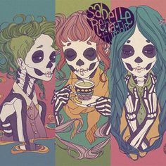 las esqueletas by sabelle rena