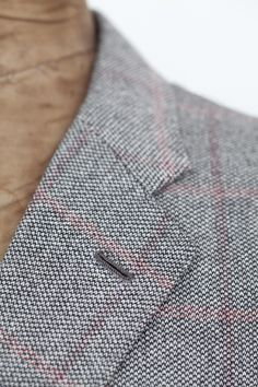Egon Brandstetter Bespoke Tailor, Berlin   #Buttonhole on the #lapel of a #bespoke #jacket made of #cashmere   #Bespoke #Process #Suits #Tailoring #Handmade #Construction