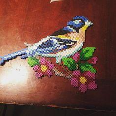 Bird perler beads by valthomas1982