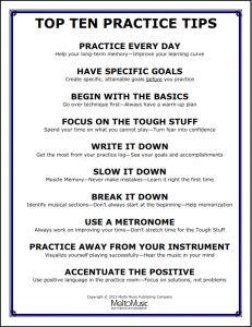Download the Top Ten Practice Tips…